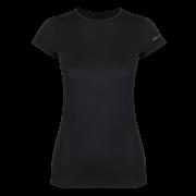 Damska koszulka Litio W T - shirt SS Black Zajo czarna