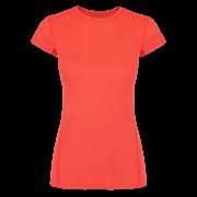 Damska koszulka Litio W T - shirt SS Fluo Coral Zajo koralowa
