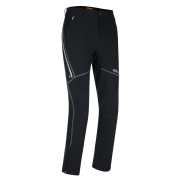 Męskie spodnie wiatroszczelne Reisa Pants Black Zajo czarne