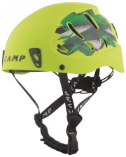 Kask wspinaczkowy CAMP Armour limonkowy typ ABS