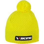 Czapka z pomponem Windstopper Berg Viking żółta