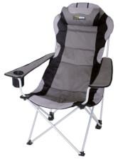 Krzesło kempingowe Julien EuroTrail szare