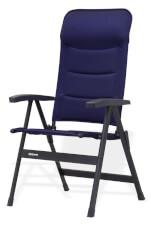 Składane krzesło turystyczne Majestic Westfield granatowe