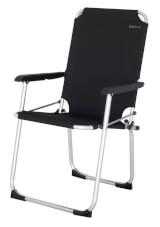 Składane krzesło podróżne Moita EuroTrail czarne