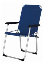Krzesło turystyczne aluminiowe Moita EuroTrail niebieskie