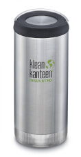 Butelka izolacyjna TKWide Vacuum Insulated (Wide Loop Cap) 355ml Brushed Stainless Klean Kanteen