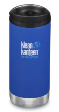 Butelka izolacyjna TKWide Vacuum Insulated (Cafe Cap) 355ml Deep Surf (matt) Klean Kanteen