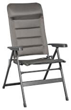 Kempingowe krzesło rozkładane Aravel 3D szare Brunner