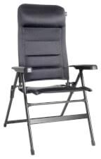 Krzesło turystyczne rozkładane Aravel 3D Brunner czarne