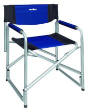 Kempingowe krzesło rozkładane Bijou niebieskie Brunner