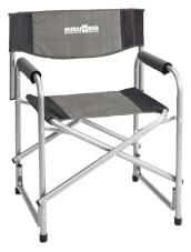 Kempingowe krzesło rozkładane Bijou szare Brunner