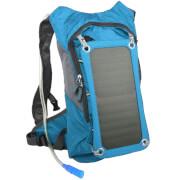 Plecak z panelem słonecznym 7W PowerNeed i bukłakiem niebieski