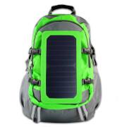 Plecak z ładowarką solarną 6,5W PowerNeed zielony