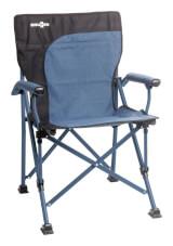 Kempingowe krzesło składane Raptor Demtex Brunner niebieskie