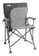 Kempingowe krzesło składane Raptor Demtex szare Brunner