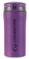Szczelny Kubek termiczny z nakrętką Flip-Top Thermal Mug purple Lifeventure