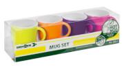 Zestaw turystycznych kubków Mug Set ABS Spectrum Flame wielokolorowy Brunner