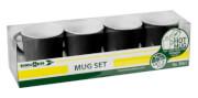 Zestaw turystycznych kubków Mug Set ABS Black czarny Brunner