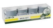 Zestaw turystycznych kubków Mug Set ABS Sandhya Grey szary Brunner