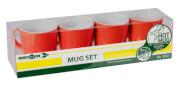 Zestaw turystycznych kubków Mug Set ABS Cosmic czerwony Brunner