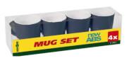 Zestaw turystycznych kubków Mug Set ABS Nautical granatowy Brunner