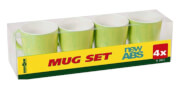 Zestaw turystycznych kubków Mug Set ABS Sandhya Green zielony Brunner