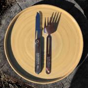 Widelec turystyczny Saiga Cutlery Fork Swiss Advance