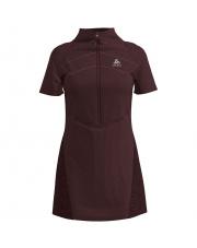 Sukienka sportowa termoaktywna Dress Millennium S - Thermic Odlo czarna