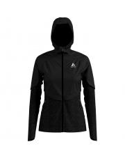 Kurtka termoaktywna z kapturem Jacket Millennium Premium Odlo czarna