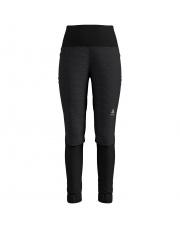 Elastyczne spodnie techniczne Pants Millennium Yakwarm Odlo czarne