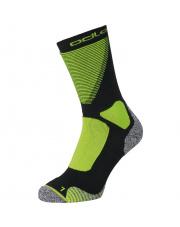 Skarpety trekkingowe Socks crew Ceramiwarm XC Odlo zielone