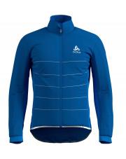 Techniczna kurtka rowerowa Zeroweight S - Thermic Pro Odlo niebieska