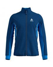 Męska kurtka termoaktywna Jacket Aeolus Odlo niebieska