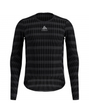 Koszulka rowerowa Bl Top Crew neck I/s Zeroweight Ceramiwarm Odlo czarna