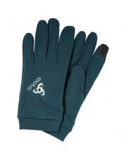 Rękawiczki z wełną merino Gloves Natural Warm Odlo niebieskie