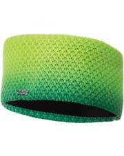 Melanżowa opaska na głowę Lota Headband Viking zielona