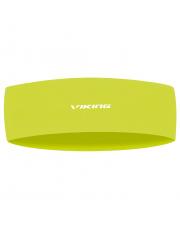 Opaska z odblaskowym logo Multifuntion Runway Viking neonowo żółta