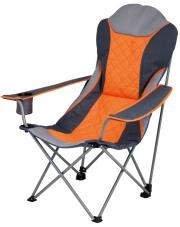 Składane krzesło podróżne Elba EuroTrail pomarańczowe