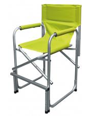 Składane krzesło turystyczne dla dzieci Margot zielone firmy Eurotrail