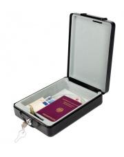 Sejf kasetka turytyczna do przechowywania wartościowych przedmiotów