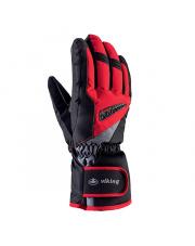 Męskie rękawice z membraną Baldo Viking czerwone