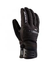 Męskie rękawice narciarskie Kuruk Viking czarne