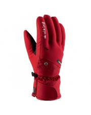 Rękawice narciarskie męskie Torin Viking czerwone