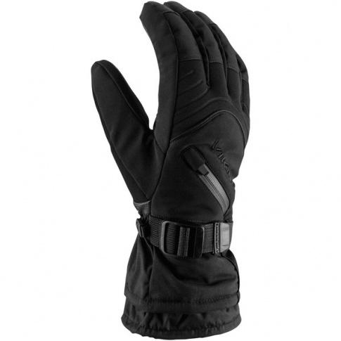 Męskie rękawice na narty Tirol Viking czarne