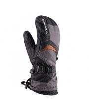 Jednopalczaste rękawice snowboardowe Flow Viking szare
