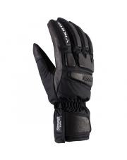 Młodzieżowe rękawice narciarskie racingowe Coach Jr Viking czarne