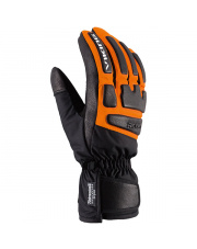 Młodzieżowe rękawice narciarskie racingowe Coach Jr Viking pomarańczowe