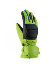 Młodzieżowe rękawice narciarskie Felix Viking zielone