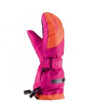 Dziecięce rękawiczki sportowe z membraną Mailo Viking różowo pomarańczowe