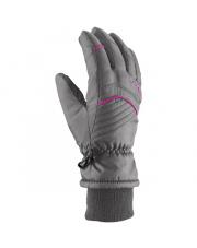 Młodzieżowe rękawiczki zimowe Rimi Viking szare